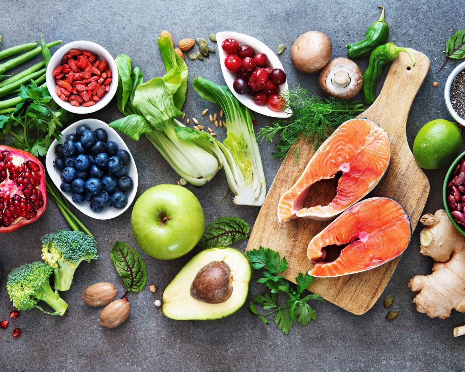 Protect your heart with a richly coloured diet.